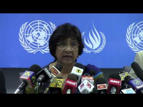 UN High Commissioner for Human Rights - Statement on Sri Lanka