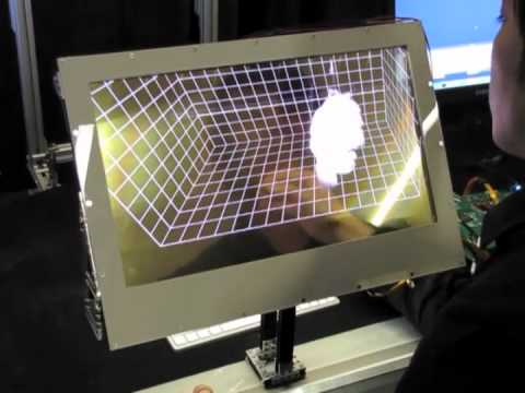 Microsoft Research Transparent Display