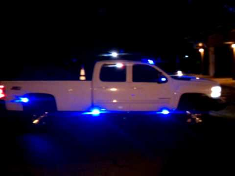 unit 1 lighting emergency demo vehicle silverado 3500hd whelen led blue light lights youtube. Black Bedroom Furniture Sets. Home Design Ideas