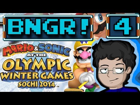 Mario & Sonic at the Sochi 2014 Olympic Winter Games Review - BNGR!