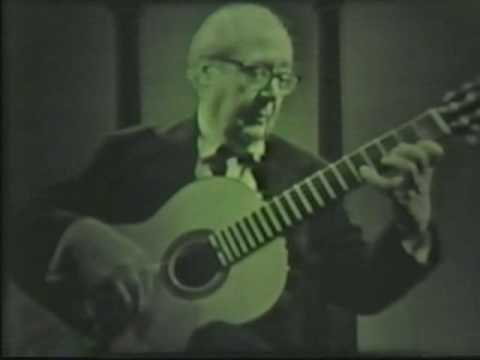 Rare Guitar Video: Andreas Segovia at San Francisco in the 60s