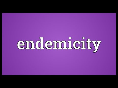 Header of endemicity