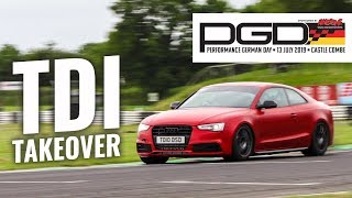 PGD TDI TAKEOVER! - Team Darkside at Performance German Day 2019 - Castle Combe Circuit