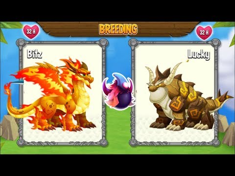 Breeding: Double Flame Dragon vs Double Terra Dragon   Dragon City [Exclusive Breeding Season]