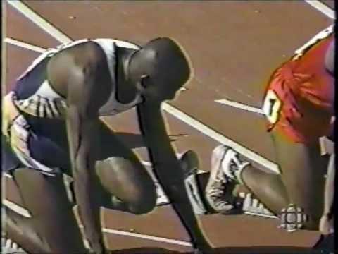 1999 Canadian Championships (100m Final) - Bruny Surin/Donovan Bailey (9.88) - Winnipeg, Manitoba