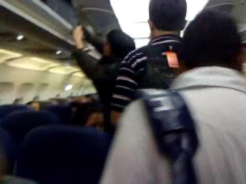 Boarding Tiger Airways At Banglore