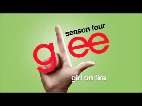 Girl On Fire - Glee [hd Full Studio] video