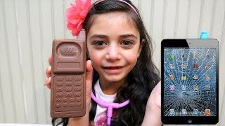 Hadil magically fix heidi broken phone - Hzhtube Kids Fun