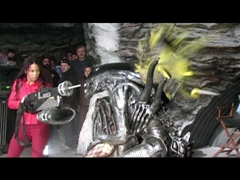 AVP How To Kill An Alien BTS