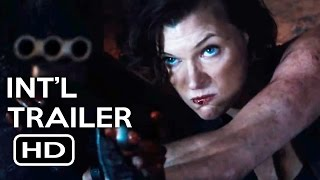 Resident Evil: The Final Chapter Official International Trailer #2 (2017) Milla Jovovich Movie HD