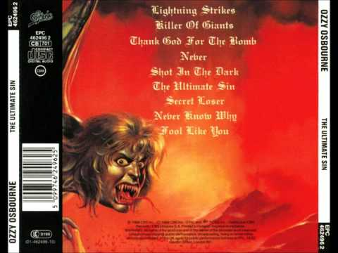 Lightning Strikes - Ozzy - Ultimate Sin video
