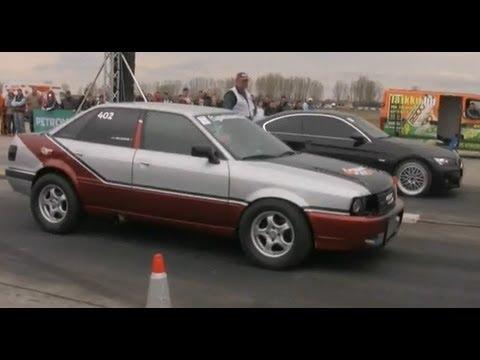 Audi 90 Quattro Turbo. Audi 90 Quattro Turbo Vs. BMW