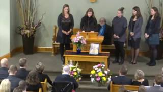 Audrey Wagler - Funeral Service Jan  27, 2017