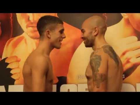 NATHON SMITH v DANNY LITTLE -  OFFICIAL WEIGH IN FROM HULL / POINT OF NO RETURN