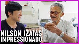 NILSON IZAIAS PAPINHO REAGINDO A MÁGICAS