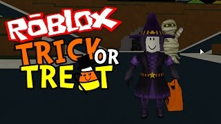 Roblox Candy Trick Or Treat Halloween