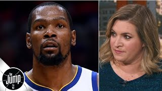 The Knicks were not prepared to offer Kevin Durant the full max - Ramona Shelburne | The Jump