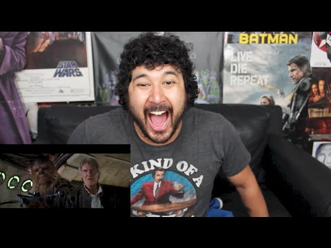 STAR WARS: THE FORCE AWAKENS EPISODE VII OFFICIAL TRAILER #2 REACTION & REVIEW!!!
