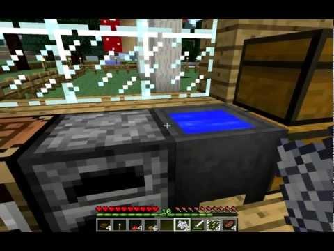Cocinando en minecraft