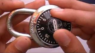 Download How to find the combination to a master lock (HD) 3Gp Mp4