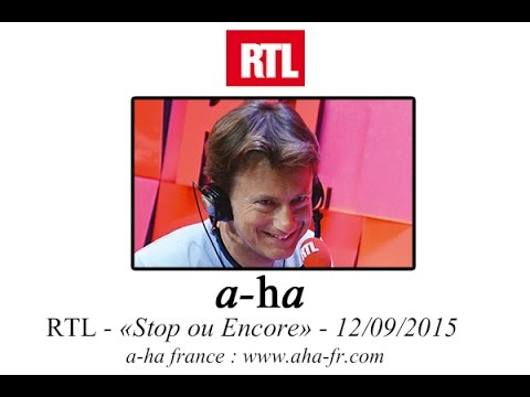"[A-ha FR] Promotion Radio RTL : ""Cast in Steel"" et ""Hunting High & Low"""