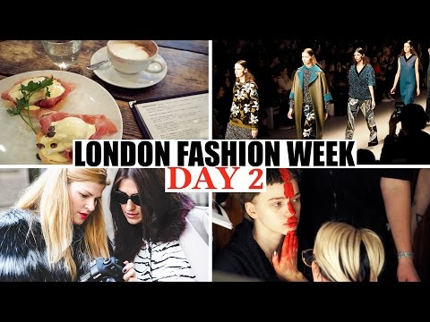 Vlog | London Fashion Week den 2.