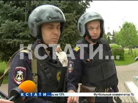Дурнопахнущий пикет - одиночный пикет разгоняла сначала охрана, а затем полиция