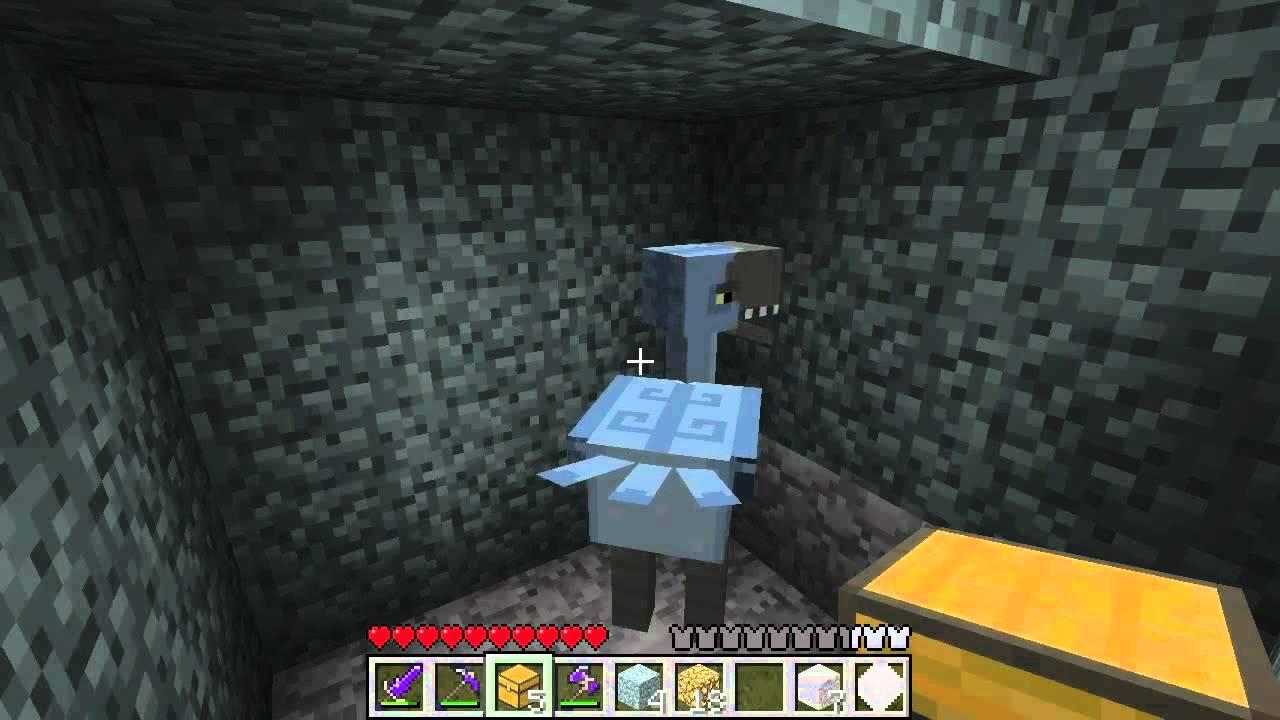Minecraft Aether Mod Tour Part 6 Bronze Dungeon Moa