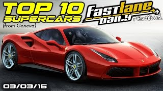 FLD Rewind: Top 10 Cars From 2015 Geneva Motor Show - Fast Lane Daily