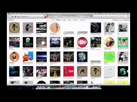 Работа с музыкальной коллекцией на базе iTunes