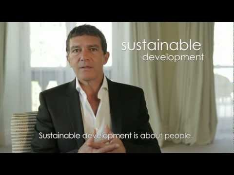 UNDP Goodwill Ambassador Antonio Banderas invites people to join the global conversation on Rio+20