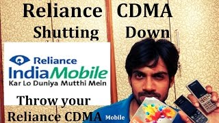Reliance CDMA Shutting Down its Service in India: Why?