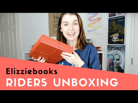 Riders by Veronica Rossi Unboxing