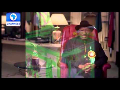 President Goodluck Jonathan's New Year Message