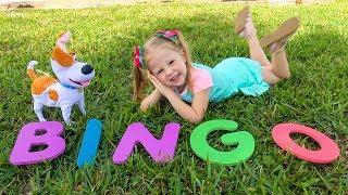 Bingo song for kids by Nastya