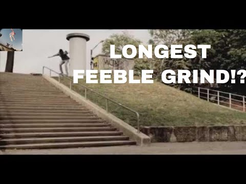 33 Stair Feeble Grind