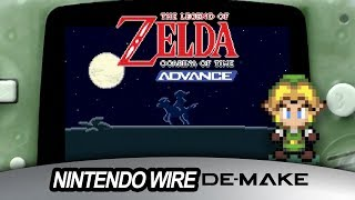 The Legend of Zelda: Ocarina of Time on Game Boy Advance | De-make Series