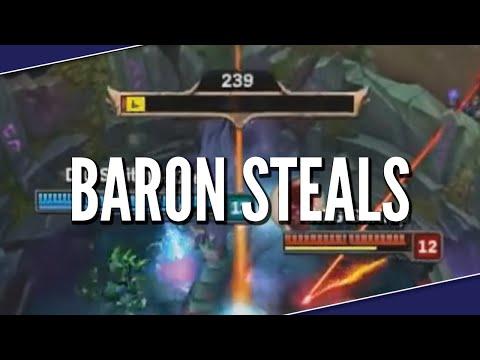 League Of Baron Steals | League Of Legends Montage