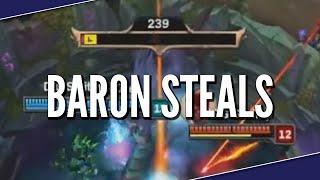 League Of Baron Steals - League Of Legends Montage