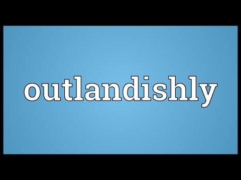 Header of outlandishly