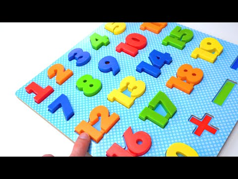 Best Learning Compilation Video for Kids & Babies! Cute Toddler Helps Teach Numbers, ABCs, & Colors