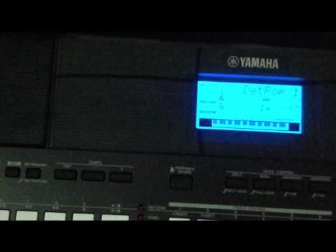 Yamaha PSR E433 เล่นจังหวะไทย กับ Midi karaoke