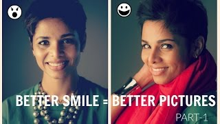 HOW TO IMPROVE NATURAL SMILE FOR PHOTOS
