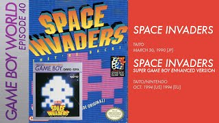 Game Boy World #040: Space Invaders [Taito, 1990] & Space Invaders [Taito/Nintendo, 1994]