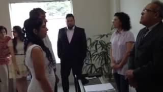 Casamento Nema e Dera Santa Rosa de Viterbo