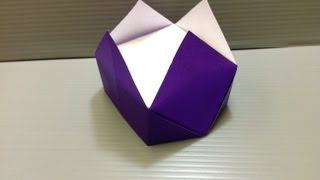 Daily Origami: 088 - Crown