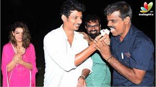 Jeeva Birthday Celebration at On The Set Of Pokkiri Raja