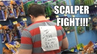 WWE ACTION INSIDER: Scalper Fight! Walmart Figure aisle Mattel Elites T-Shirt series