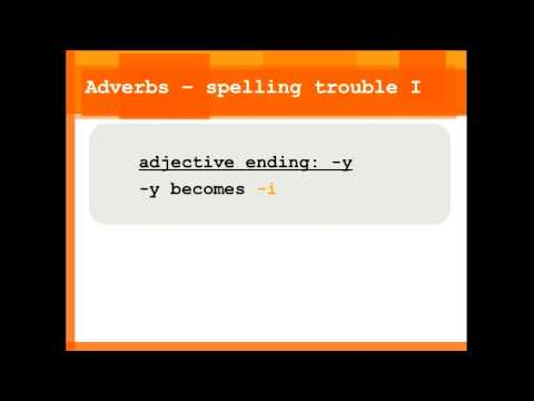 Tags:adverb adverbs adjective adjectives ESL English language training