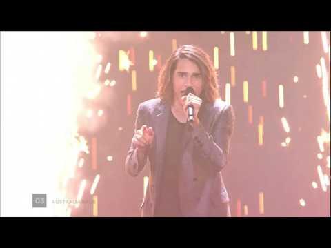 Eurovision Australia 2017 Semi-Final - Hilarious high note / Fail